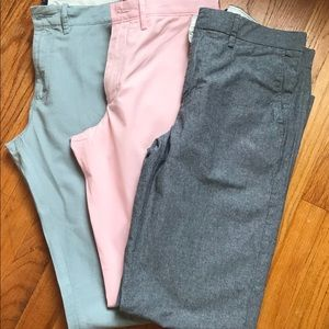 J Crew Men's Broadcloth Dress Pants 29 x 32- NWT